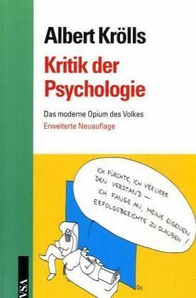 Kritik der Psychologie - Krölls, Albert