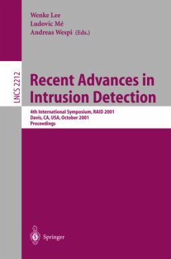 Recent Advances in Intrusion Detection - Lee, Wenke / Me, Ludovic / Wespi, Andreas (eds.)
