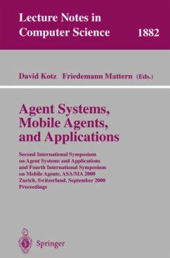 Agent Systems, Mobile Agents, and Applications - Kotz, David / Mattern, Friedemann (eds.)