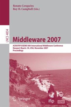 Middleware 2007 - Cerqueira, Renato (Volume ed.) / Campbell, Roy H.