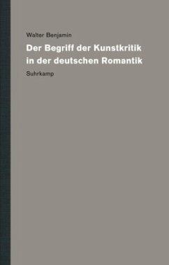 Werke und Nachlaß. Kritische Gesamtausgabe 3 - Benjamin, Walter