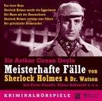 Meisterhafte Fälle von Sherlock Holmes und Dr. Watson, 3 Audio-CDs