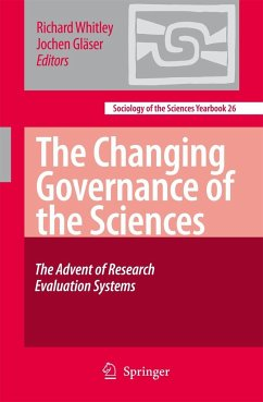 The Changing Governance of the Sciences - Whitley, Richard / Gläser, Jochen (eds.)