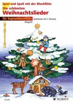 Die schönsten Weihnachtslieder, Für 1-2 Sopranblockflöten