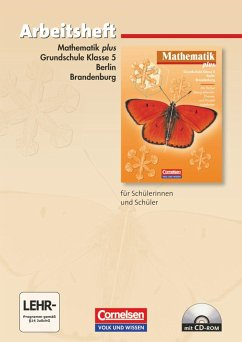 Mathematik plus. Grundschule 5. Schuljahr. Berlin und Brandenburg. Arbeitsheft
