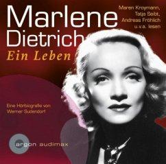 Marlene Dietrich, Ein Leben, 1 Audio-CD