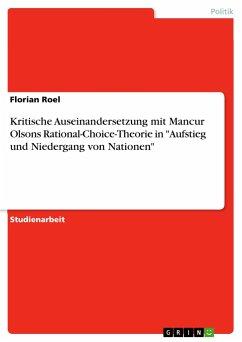 Kritische Auseinandersetzung mit Mancur Olsons Rational-Choice-Theorie in