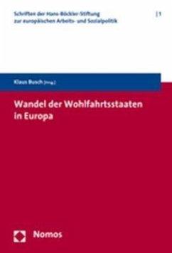 Wandel der Wohlfahrtsstaaten in Europa