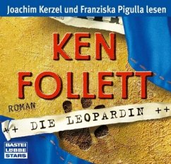 Die Leopardin, 6 Audio-CDs - Follett, Ken