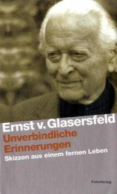 Unverbindliche Erinnerungen - Glasersfeld, Ernst von