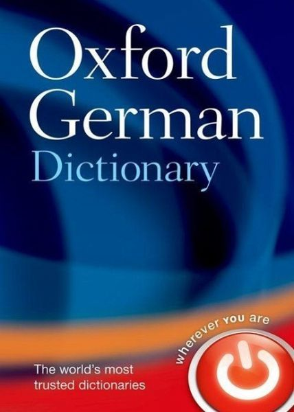 oxford german dictionary buch. Black Bedroom Furniture Sets. Home Design Ideas