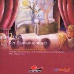 Der Diamantenraub, 1 Audio-CD / Drei Freunde ermitteln, Audio-CDs