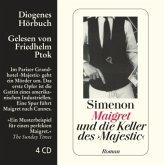 Maigret und die Keller des 'Majestic', 4 Audio-CDs