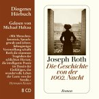 Die Geschichte von der 1002. Nacht, 8 Audio-CDs