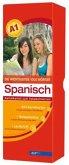 Die wichtigsten 1000 Wörter Spanisch Niveau A1, Karteikarten m. Lernbox