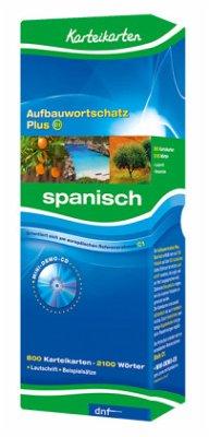 Karteikarten. Aufbauwortschatz Plus Spanisch