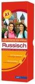 Die wichtigsten 1000 Wörter Russisch Niveau A1, Karteikarten m. Lernbox