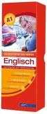 Die wichtigsten 1000 Wörter Englisch Niveau A1, Karteikarten m. Lernbox
