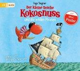 Der kleine Drache Kokosnuss und die wilden Piraten / Die Abenteuer des kleinen Drachen Kokosnuss Bd.9, Audio-CD