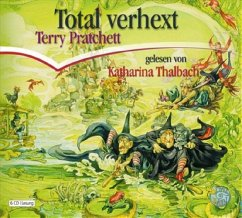 Total Verhext / Scheibenwelt Bd.12 (6 Audio-CDs) - Pratchett, Terry