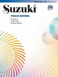 Suzuki Violin School, Revised Edition, Violin Part, w. Audio-CD