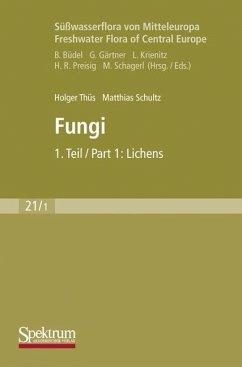 Süßwasserflora von Mitteleuropa, Bd. 21/1 Freshwater Flora of Central Europe, Vol. 21/1: Fungi - Schultz, Matthias; Thüs, Holger