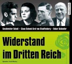 Widerstand im Dritten Reich, 1 Audio-CD