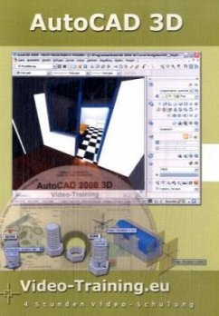 AutoCAD 3D 2008 Video-Training, CD-ROM