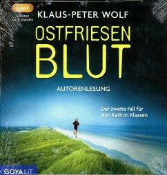 Ostfriesenblut / Ann Kathrin Klaasen ermittelt Bd.2 (3 Audio-CDs) - Wolf, Klaus-Peter