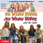 Die Wilden Hühner & Die Wilden Hühner und die Liebe, 2 Film-Hörspiele, 4 Audio-CDs