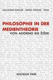 Philosophie in der Medientheorie