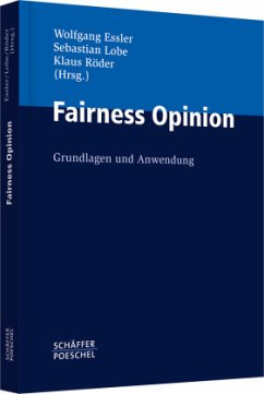 Fairness Opinion - Essler, Wolfgang / Lobe, Sebastian / Röder, Klaus (Hrsg.)