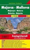 Freytag & Berndt Autokarte Mallorca; Majorca; Majorque; Maiorca; Maloka; Majorka