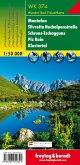 Freytag & Berndt Wander-, Rad- und Freizeitkarte Montafon, Silvretta, Hochalpenstraße, Schruns-Tschagguns, Piz Buin, Klo