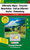 Freytag & Berndt Wander-, Rad- und Freizeitkarte Zillertaler Alpen, Tuxertal, Mayrhofen, Zell im Zillertal, Gerlos, Fink