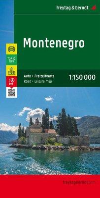 Freytag & Berndt Auto + Freizeitkarte Montenegr...