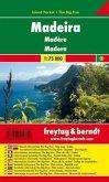 Freytag & Berndt Autokarte Madeira, 1:75.000, Island Pocket + The Big Five; Madère; Madera