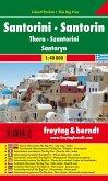 Freytag & Berndt Autokarte Santorin; Santorini; Thera; Szantorini; Santoryn