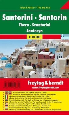 Santorin, Island Pocket, Autokarte 1:40.000