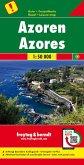 Freytag & Berndt Autokarte Azoren; Acores; Azores. Azzorre