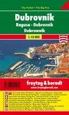 Freytag & Berndt Stadtplan Dubrovnik. Ragusa. Dubrownik