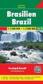 Freytag & Berndt Autokarte Brasilien; Brasil; Brazilie. Brazil. Brésil. Brasile