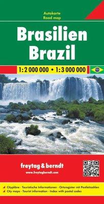 Freytag & Berndt Autokarte Brasilien; Brasil; B...