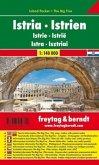 Freytag & Berndt Autokarte Istrien; Istria; Istrie. Istra. Isztriai