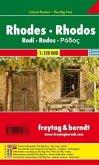 Freytag & Berndt Autokarte Rhodos; Rhodes; Rodi; Rodos; Rodas; Rodosz