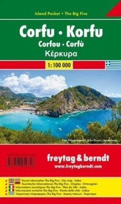 Korfu 1 : 100 000 (Island Pocket + The Big Five)