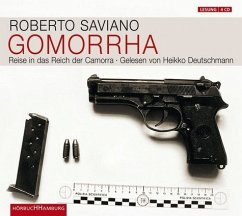 Gomorrha, 4 Audio-CDs - Saviano, Roberto