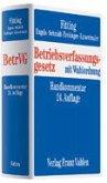 Betriebsverfassungsgesetz: BetrVg. Stand 01/2008