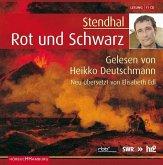 Rot und Schwarz, 17 Audio-CDs (Sonderausgabe)