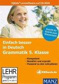 Einfach besser in Deutsch, Grammatik 5. Klasse, CD-ROM